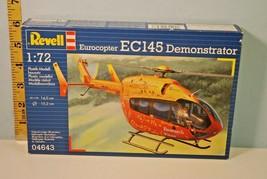 1:72 Eurocopter EC145 Training Helicopter Revell Model 2009 Poland - $13.86