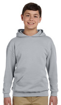 Jerzees Youth Fleece Pullover Hoodies - 996Y - Oxford - $13.24