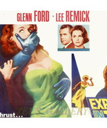 "GLENN FORD ""Experiment in Terror"" LEE REMICK 1962 Genuine Vtg.Movie Post... - $116.10"