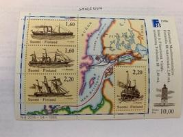 Finland Ships s/s 1986  mnh  - $4.95
