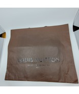 """LOUIS VUITTON Authentic Paper Gift Shopping Bag LARGE SIZE 19 x16 x 9"""".   - $16.00"""