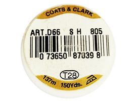 Coats & Clarks Glitz Metallic Foil Decorative Thread, Red #805 image 2