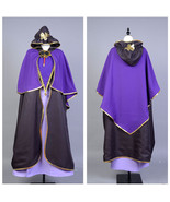 Fate Stay Night Caster Medea Cosplay Costume Witch Dress Suit Robe Cloak... - €80,47 EUR+