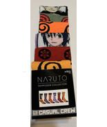 Saruto Shippuden Collection 6 pair casual Crew Mens Socks - $17.45