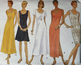 Butterick 3496 Misses Dress Sewing Pattern, Cut to a Size 12 - $12.00