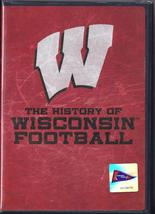 The History of Wisconsin Football DVD, New - $5.95