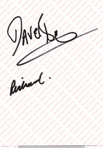 HAWKWIND VINTAGE GENUINE AUTOGRAPH ON WHITE PAPER - $12.00