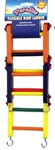 Paradise, Folding, Flexible Bird Ladder, Perch, Bridge, Colorful 3 Sizes