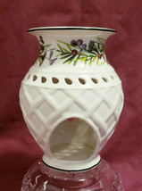 LENOX China - Holiday Etchings - Pierced Fragrance Warmer / Votive - $22.95