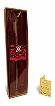 """100 Percent  Pure Beeswax 10"""" Colonial Tapers Candle Pair, Cranberry Scent - £8.47 GBP"""