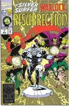 The Silver Surfer/Warlock: Resurrection Comic Book #1 Marvel 1993 NEAR MINT - $3.99