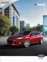 2014 Ford FOCUS sales brochure catalog interactive US 14 SE Titanium ST - $8.00