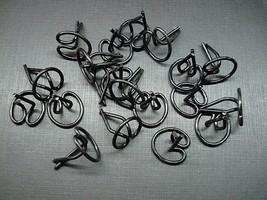 "10 pcs steel push in trim clips for 1//2/""-3//4/"" wide moulding Chrysler DeSoto"