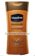 VASELINE Intensive Care COCOA BUTTER RADIANT Non-Greasy LOTION Dry Skin ... - $6.30