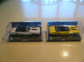 1970 Oldsmobile 442 1/43 New Ray - Two Cars - One White One Yellow - $16.39