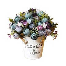 George Jimmy Artificial Flowers for Wedding/Party Table Ornaments-Camellia Rose - $32.96
