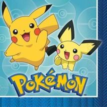 Pokemon Core Paper Luncheon Napkins 16 Ct - $4.94