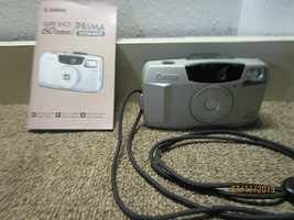 Canon Sure Shot 60 Zoom Date 35mm Film Camera Complete W/ Box & Receipt ... - $13.99