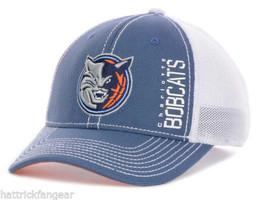 Charlotte Bobcats adidas MZA09 NBA Basketball Stretch Fit Zone Meshback Cap L/XL - $18.99