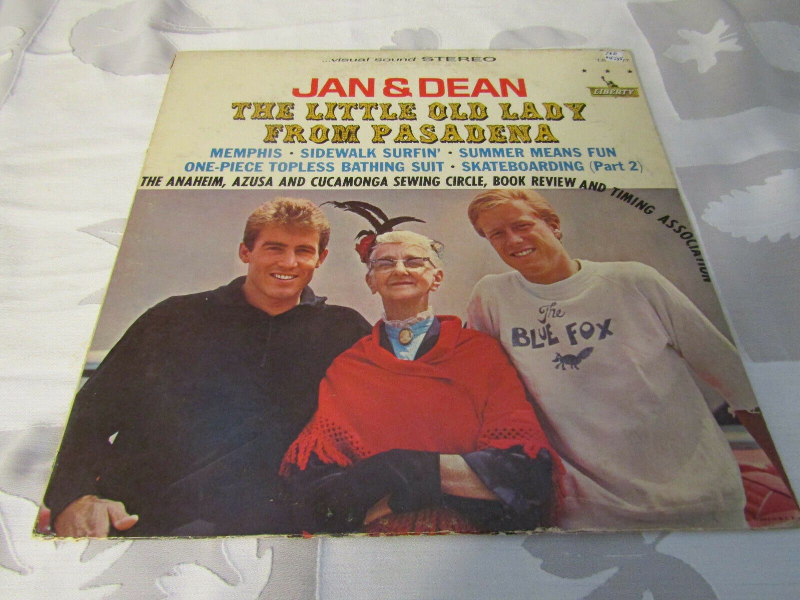 Primary image for Jan & Dean Little Old Lady From Pasadena Liberty LST-7377 Stereo Vinyl Record LP
