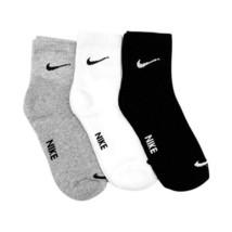 Nike  Brand Multi color Men's Ankle Length Towel Socks Free Size Set of ... - $7.90