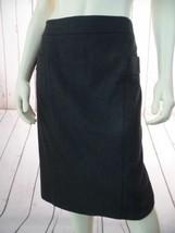ANN TAYLOR Skirt 8 NEW $118 Lady Tweed Pencil Skirt Green Gray Stretch WoolBlend - $78.21