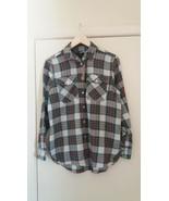J Crew Women Plaid Shirt Size 2 - $19.31