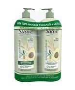 Suave Professionals Shampoo & Conditioner, Avocado + Olive Oil 40 oz/1.1... - $19.99