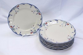 "Epoch Berry Grove Salad Plates 7.5"" Lot of 7 - $48.99"