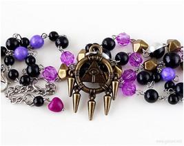 Millenium Ring Handmade Necklace, Anime Jewelry, Cosplay, Jfashion - $40.00