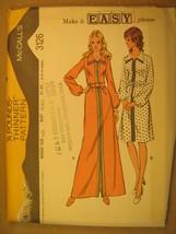 UNCUT Pattern 1972 McCALL Size 10 Misses' & Junior DRESS 3126 [Z181] - $6.72
