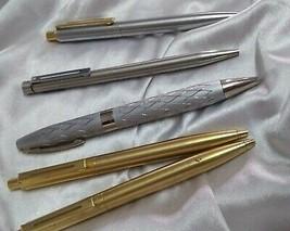 5 pc sheaffer ballpoint pen vintage - $157.41