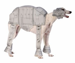 Rubies Star Wars AT-AT Imperial Walker Dog Pet Halloween Costume 885577 - $32.99