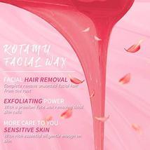 Wax Warmer Kit, KOTAMU Hair Removal Waxing Kit with 4 Hard Wax Beans Target for  image 3
