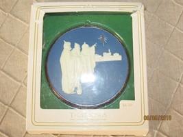 "Vintage Hallmark Cameo Keepsake Christmas Ornament Cobalt Cameo ""Three Kings""  - $12.00"