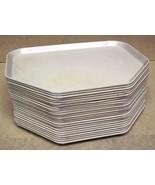 Heavy Duty Cafeteria Trays Fiberglass 18in x 14in Beige Lot of 25 - $109.85