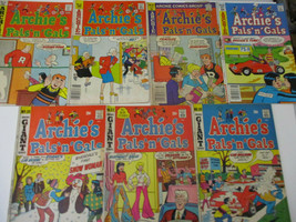 Archie's Pal n Gals Vintage Funny Comic Book Lot Teenage Humor Classic 1975 - $23.88