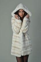 Off White Rex Fur Coat Hooded - $1,188.00