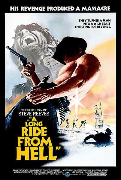 Primary image for A Long Ride From Hell - 1968 - Movie Poster