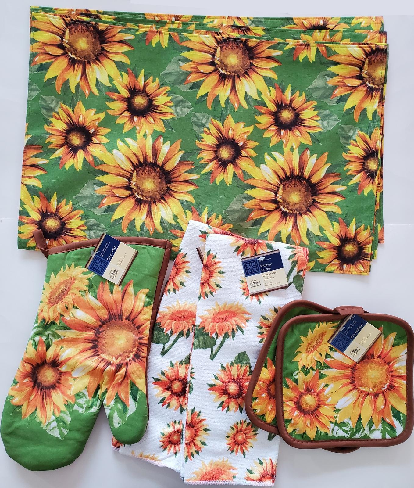 Sunflowerkitchenset 9pc