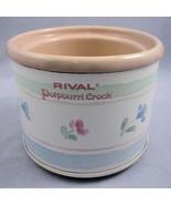 Rival Potpourri Crock Floral 3206 Vintage 1988 Electric Fragrance Simmer... - $24.70