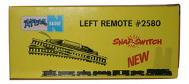 "Atlas ""N"" Gauge Left Remote #2580 NEW Snap Switch"