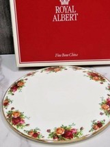 "Royal Albert Old Country Roses 11"" Round Cake Gateaux Platter Plate New ... - $31.68"