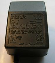 Sony AC-T42 7W 9V Dc 350mA Ac Power Adapter - $4.00