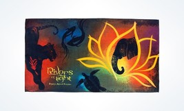 Disney Parks Animal kingdom Rivers of Lights Beach Towel New with Tags - $31.90