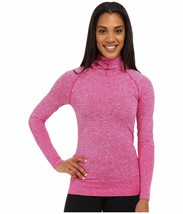 NWT The North Face Women Go Seamless Pullover Hoodie Fuchsia Pink Heathe... - $39.19