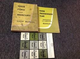 1968 Ford & Mercury Car Service Shop Repair Manual Set W Intro & Maintenance OEM - $69.29
