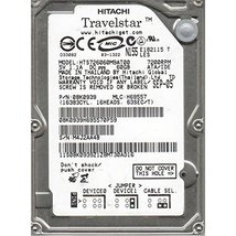 "HTS726060M9AT00 60GB IDE 2.5"" Hitachi 7200RPM 9.5mm Hard Drive NEW - $37.19"