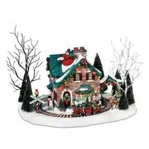 Department 56 Snow Village Christmas Lane Santa's Wonderland House BRAND... - $214.59