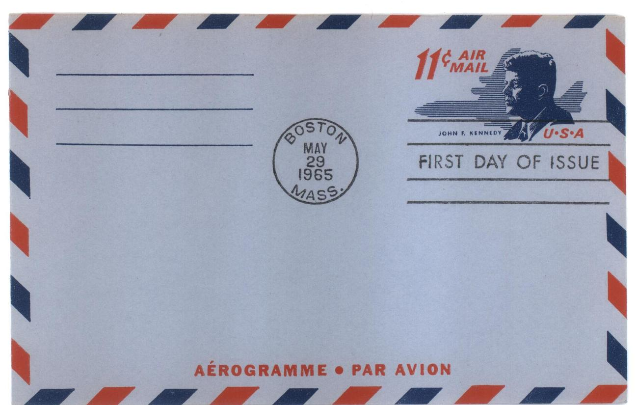 Kennedy air letter fdc